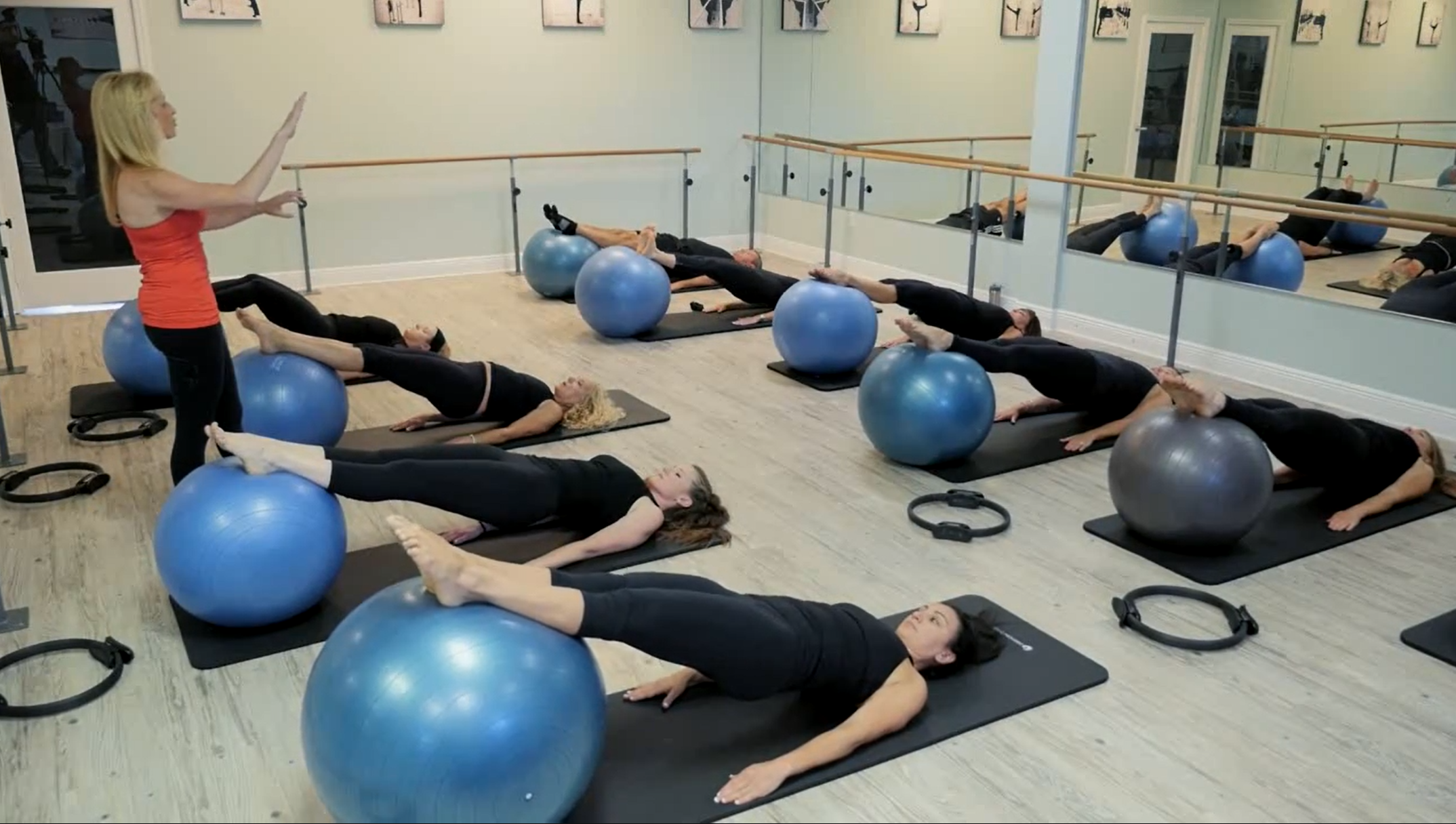 Advanced Physio Ball Workout