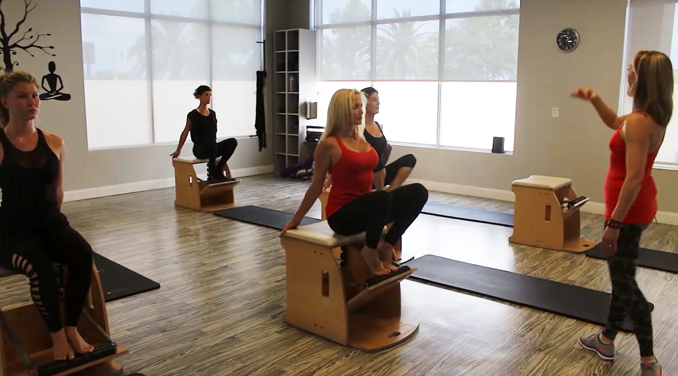 Reformer on the Chair Workout with Carrie Campbell
