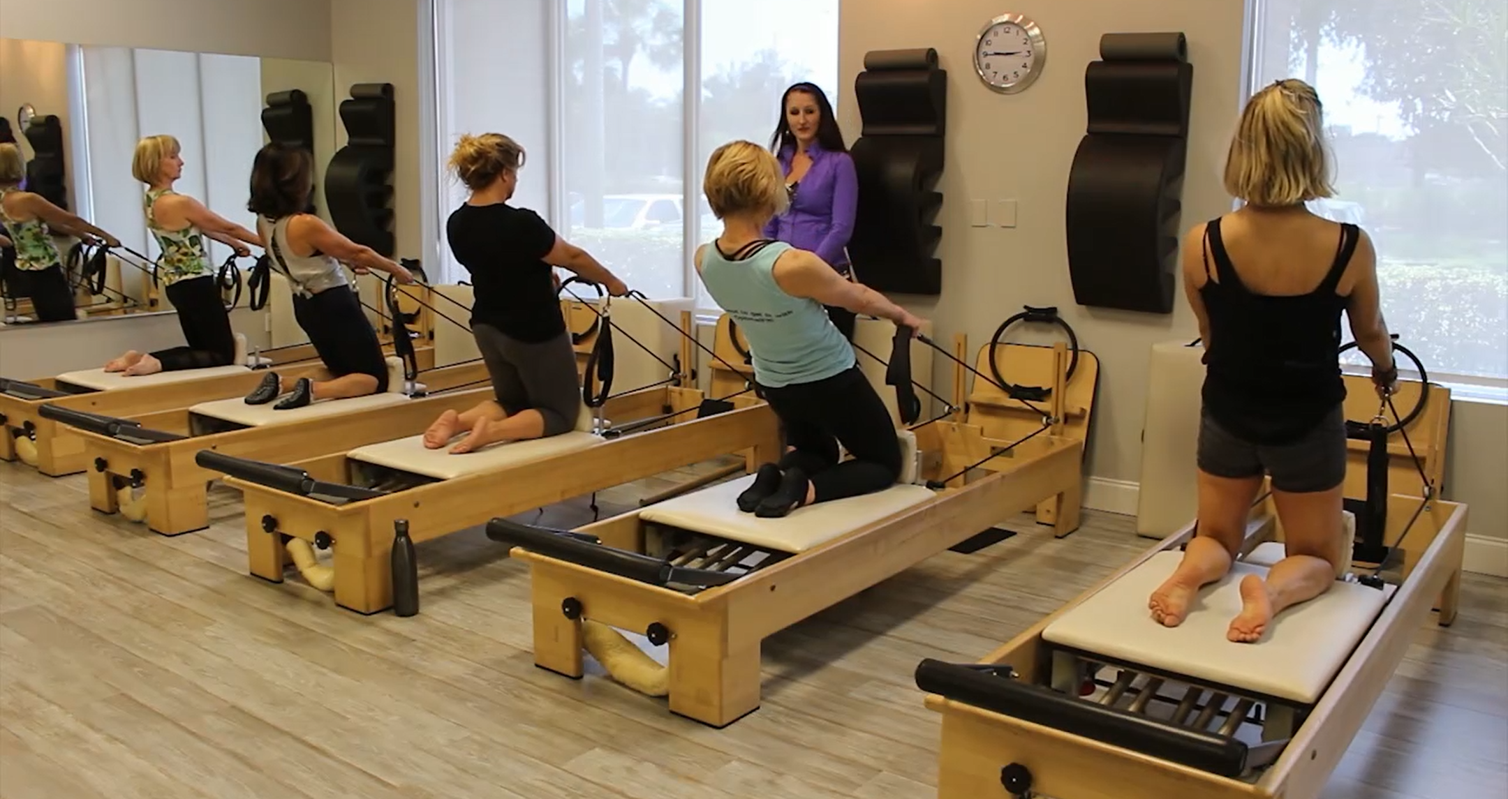 Reformer Jump Board Workout with Katie Thoms