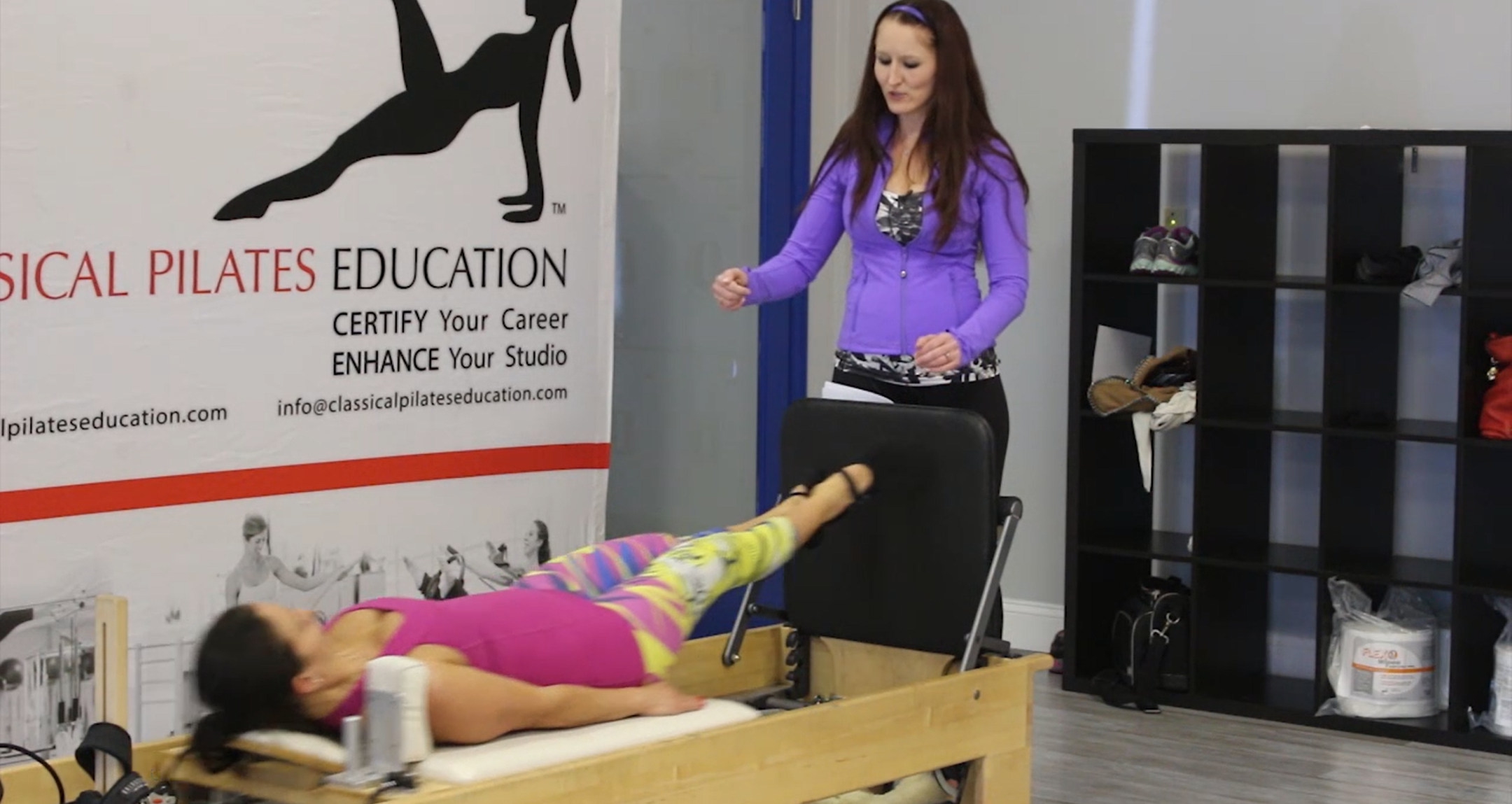 Reformer Jump board and Pedipul Workshop with Katie Thoms